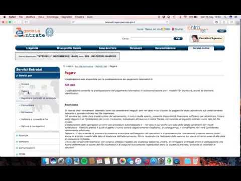 Tutorial: presentare F24 con F24 web
