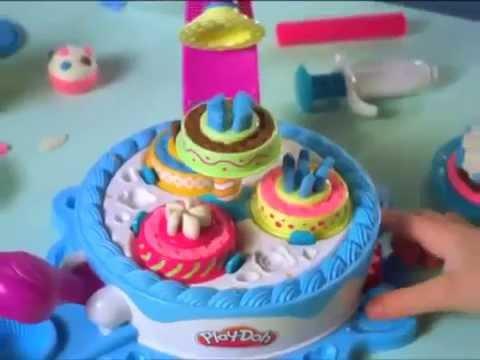 Play doh фабрика сладостей из пластилина Плэй до - YouTube