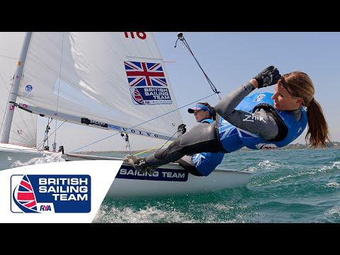 Olympics 2016 - Hannah Mills & Saskia Clark - 470 Women - British Sailing Team