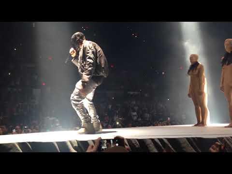 Kanye West  I Am a God Yeezus Tour San Antonio