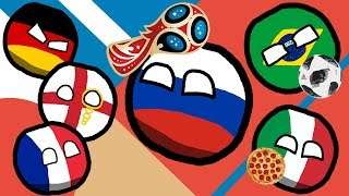 Marble Race FIFA 2018 World Cup Countryballs  Prediction Russia | Group Stage + Play-Off