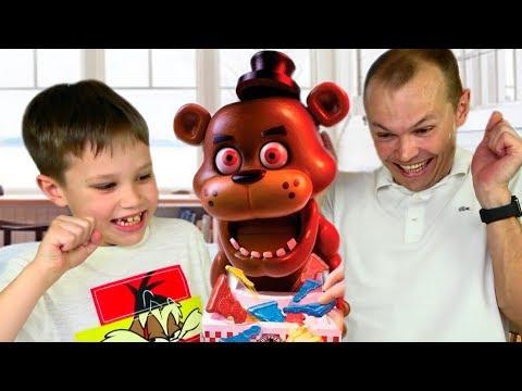 видео: ВЛОГ Five Night at Freddy Challenge FNAF