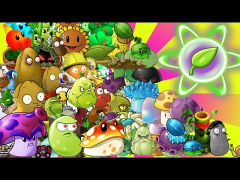 Plants Vs Zombies 2: ALL Max Level Plants Showdown! PvZ 2