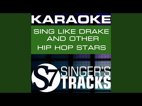 Up All Night Karaoke Instrumental Track In the Style of Drake