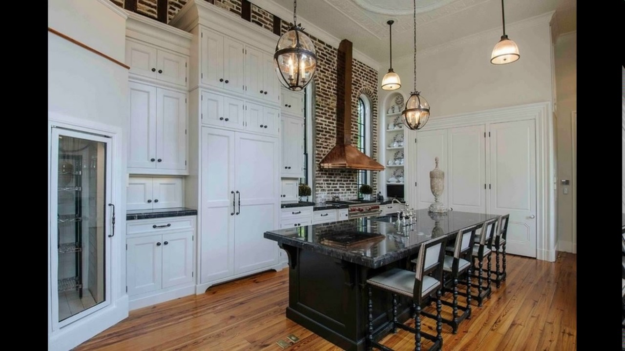 Beau High Ceiling Kitchen Design