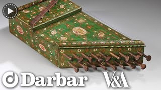 Indian classical music instrument - The Surmandal