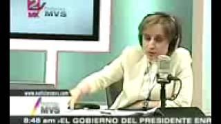 El dia que Carmen Aristegui lloró