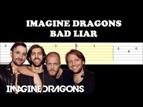 Imagine Dragons - Bad Liar (Easy Guitar Tabs Tutorial)