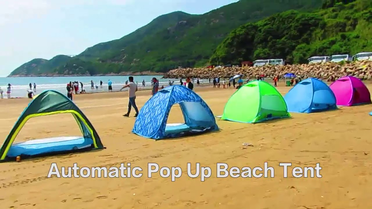 Automatic Pop Up Beach Tent Shelter