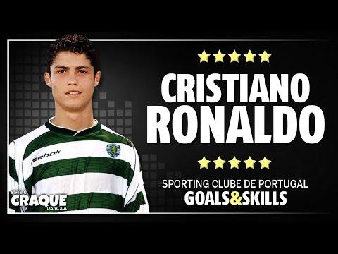 huge discount 32be1 dbf76 CRISTIANO RONALDO ● Sporting CP ● Goals & Skills