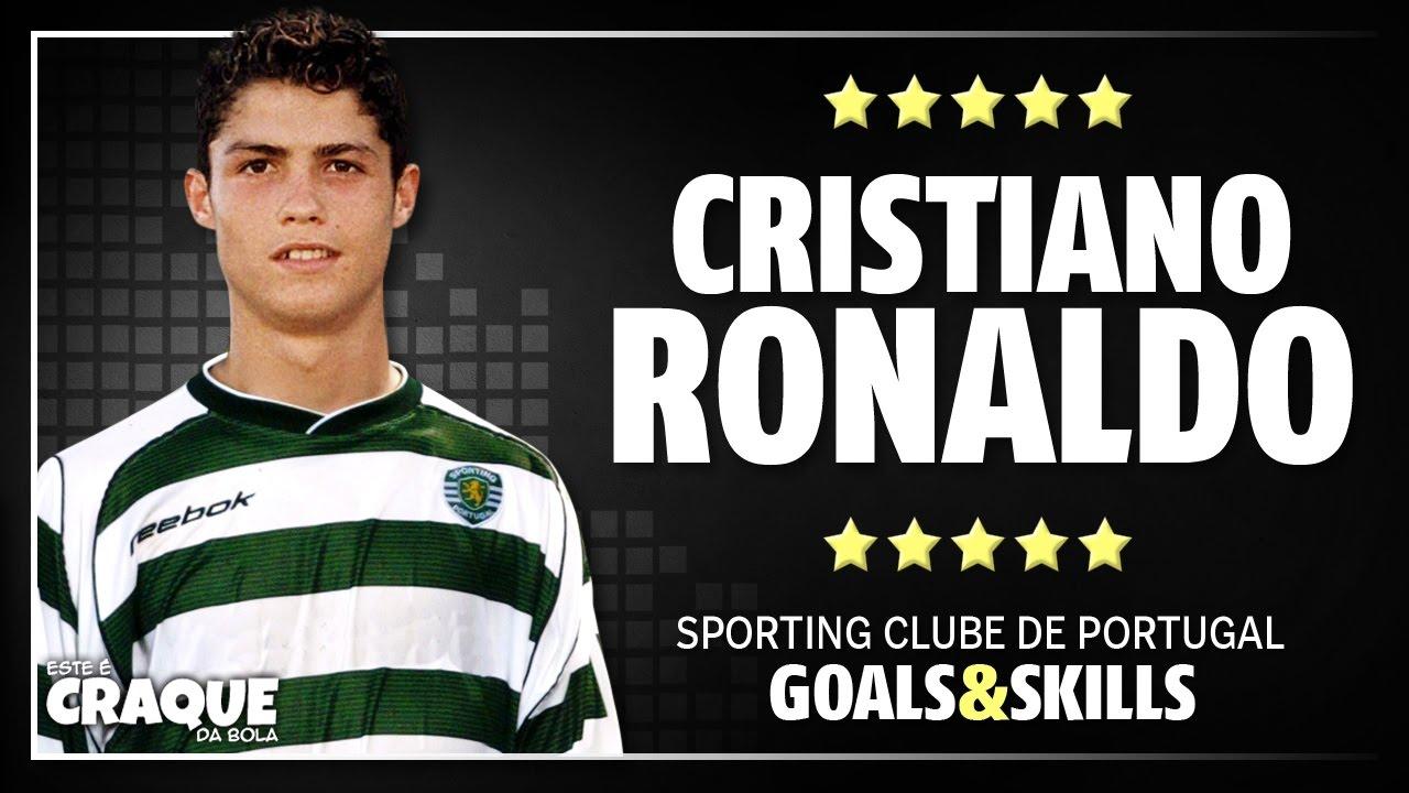 6309d12f3 CRISTIANO RONALDO ○ Sporting CP ○ Goals   Skills - YouTube