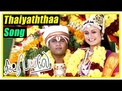 Thiruttu Payale Movie Scenes | Jeevan decides to quit troubling Malavika | Thaiyaththaa Song | Sonia