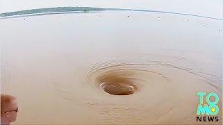 Lubang paling mengerikan di dunia; pusaran air raksasa, lubang misterius Siberia - Kompilasi Tomonew
