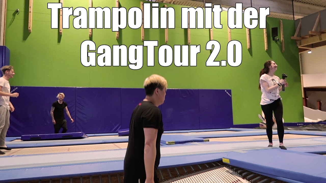trampolin springen mit der gangtour 2 0 theboborator youtube. Black Bedroom Furniture Sets. Home Design Ideas
