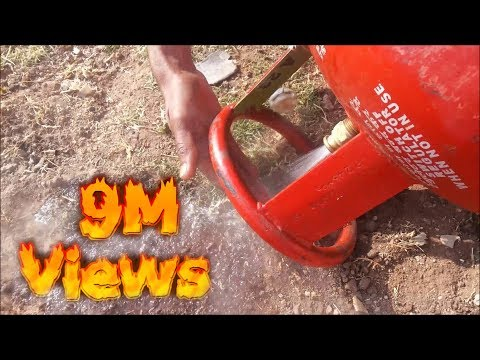 What happen when Liquefied Petroleum Gas (LPG) Release from cylinder instantly...??!!