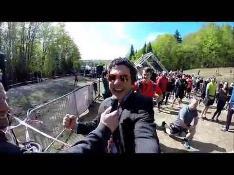 Spartan Chandelier (parody), Mont Tremblant Spartan Sprint, May 23, 2015,