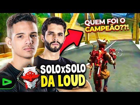 QUEM É O MELHOR?!? O X1 DA LOUD MAIS ÉPICO DO FREE FIRE!!!