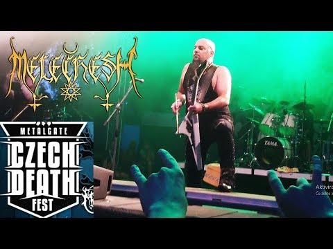 Melechesh - Czech death fest 2019 - Triangular Tattvic fire live