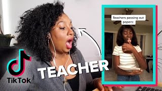 Teachers React To Student TikToks
