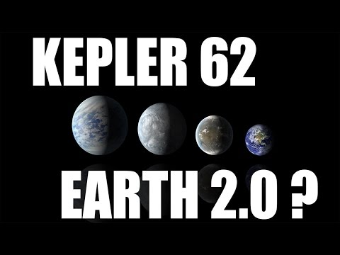 KEPLER 62 - Our New Home? Universe Sandbox 2 and Space Engine