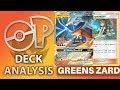 Greens ReshiZard Deck Analysis and Battles! (Pokemon TCG)