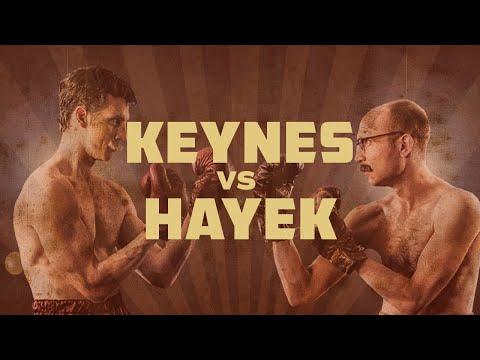 """""""Fight Of The Century"""": Keynes Vs. Hayek Rap Battle Round Two"""