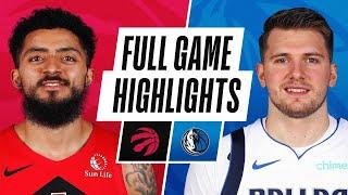 Game Recap: Mavericks 114, Raptors 110