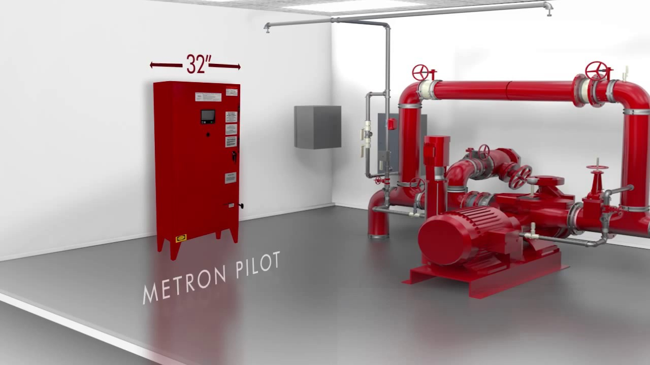 metron introducing the new pilot series by metron fire pump controls [ 1280 x 720 Pixel ]