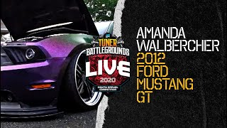 PASMAG Tuner Battlegrounds Competitor: Amanda Walbercher - 2012 Ford Mustang GT
