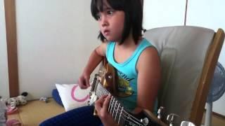 Audrey Plays Guitar-In Bloom- Nirvana 100K+ (ROCKSMITH)