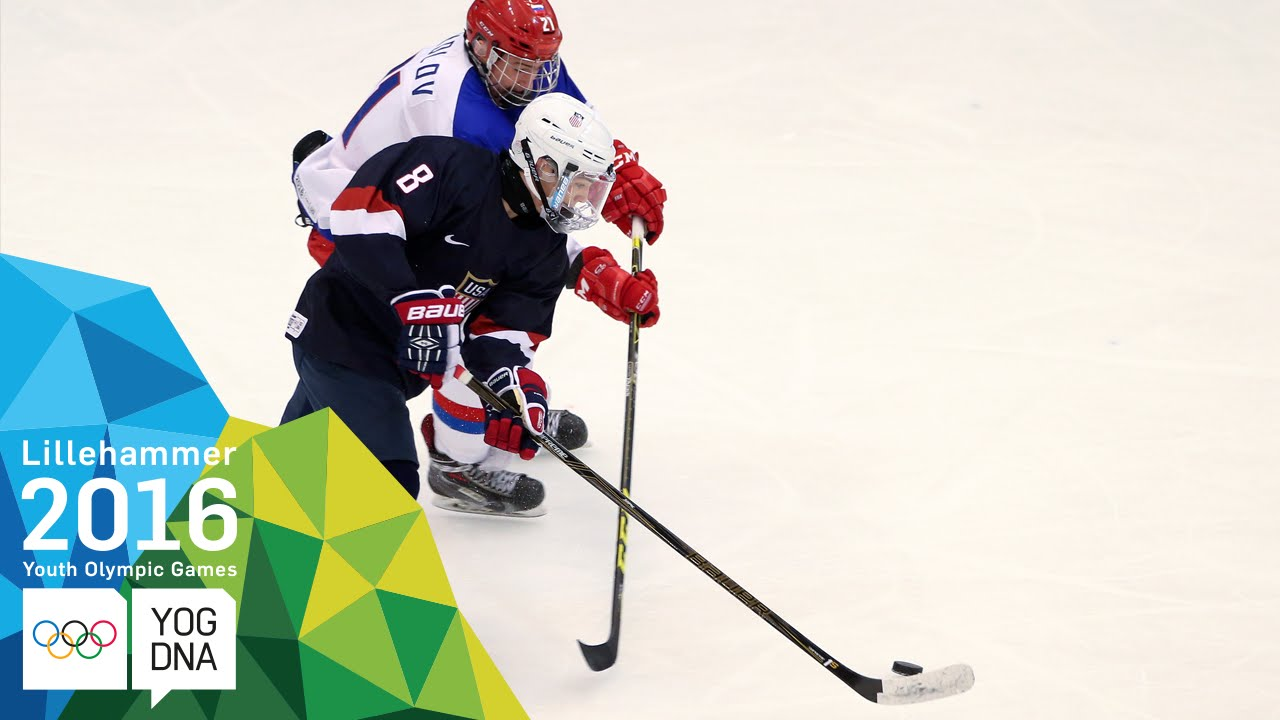 Ice Hockey - Men's Semi-Finals - USA vs Russia | Lillehammer 2016 Youth Olympic Games