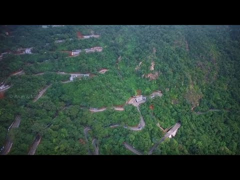 A View of Salem City from Yercaud - Video of Yercaud