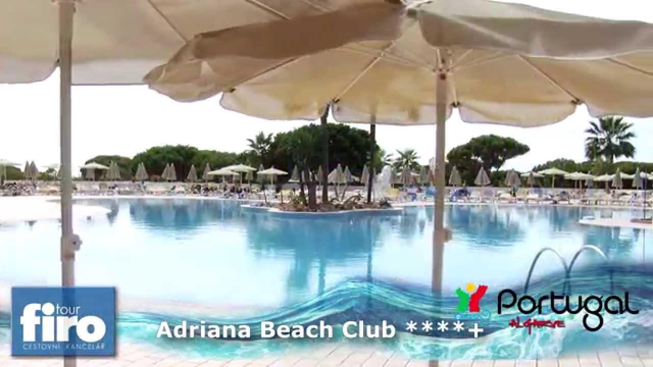 Hotel Adriana Beach Club Algarve Portugalsko Firo Tour