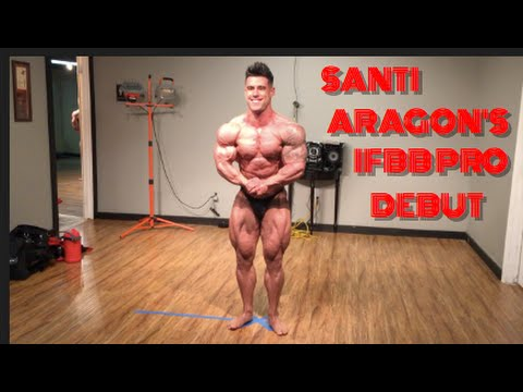 PART 1 SANTI ARAGON'S PRO DEBUT AT THE MIAMI MUSCLE BEACH WITH MATT PORTER #1 of 3