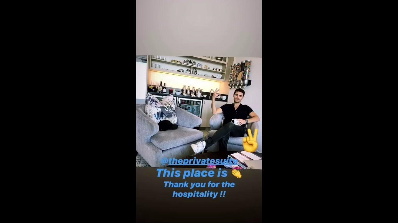 Paul Wesley's Instagram Stories