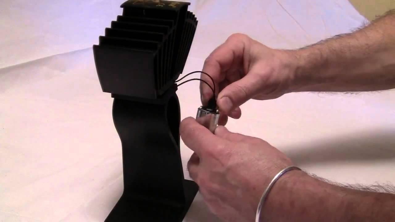 caframo airmax motor replacement efireplacestore com youtube