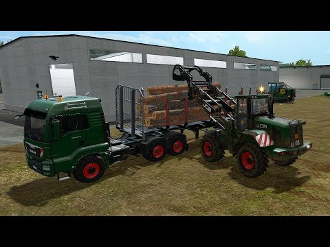 Farming Simulator 17 - Forestry and Farming on The Valley The Old Farm 096 thumbnail