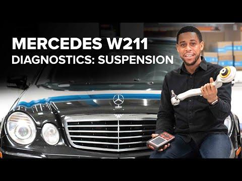 Mercedes-Benz W211 Suspension Diagnostics – Everything You Need To Know (E350,  E55 AMG, & E63AMG)