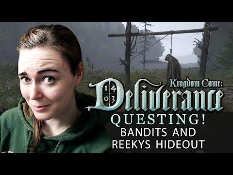 [QUESTING #2 - Bow & Arrow VS Bandits] Kingdom Come: Deliverance | Beta Walkthrough