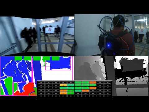 Complex indoor navigation using Sound of Vision