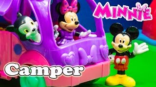 MICKEY MOUSE CLUBHOUSE Disney Minnie Mouse Cruisin Camper Toys Video Unboxing