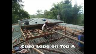 Prefab Eco Friendly Construction In Costa Rica, The Lapa On Top A , Part 1.