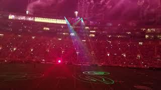 Family game night light show Vlog