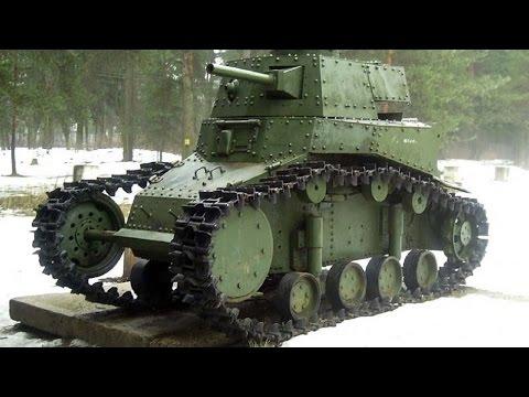 Танк своими руками! Легкий пехотный танк T-18