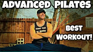 ADVANCED POWER PILATES ABS WORKOUT - Sean Vigue Fitness