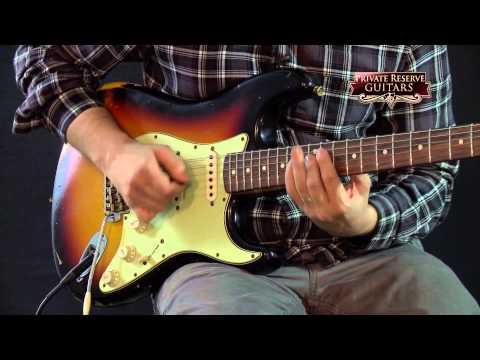 Fender '60s Stratocaster Relic Electric Guitar 3-Color Sunburst