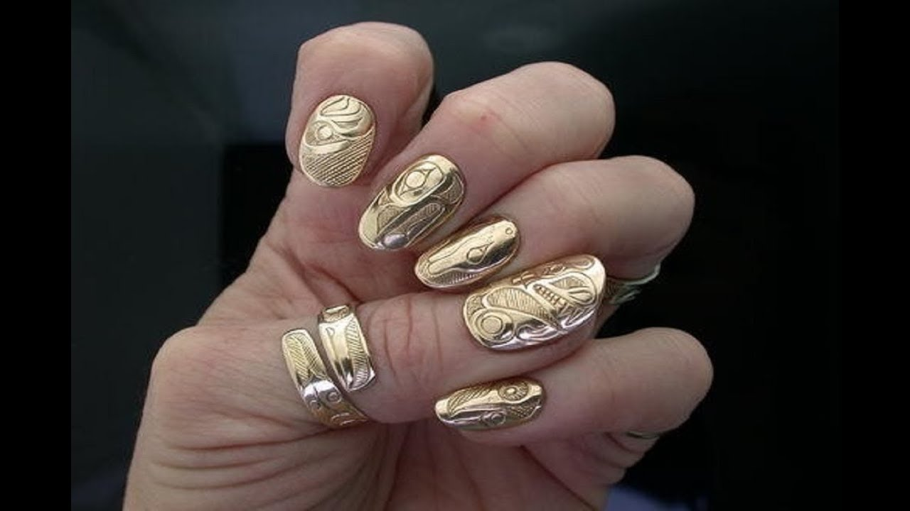 Gold Nail Ring New Design Youtube
