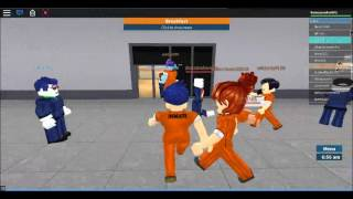 Roblox game play prison life #1