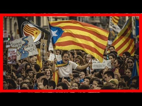 Independence vote: catalans wait for voting stations to open News Today