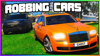 GTA 5 Roleplay - ROBBING EVERY DEALERSHIP | RedlineRP